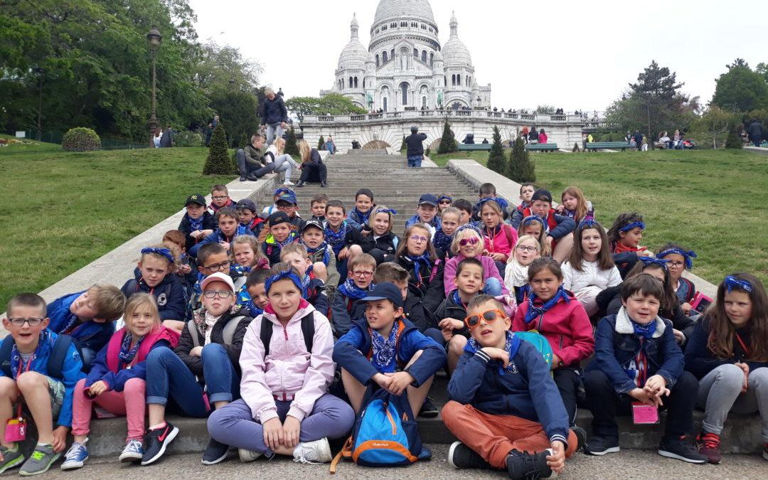 voyage à Paris,  vendredi 3 mai, la butte de Montmartre et le château de Versailles