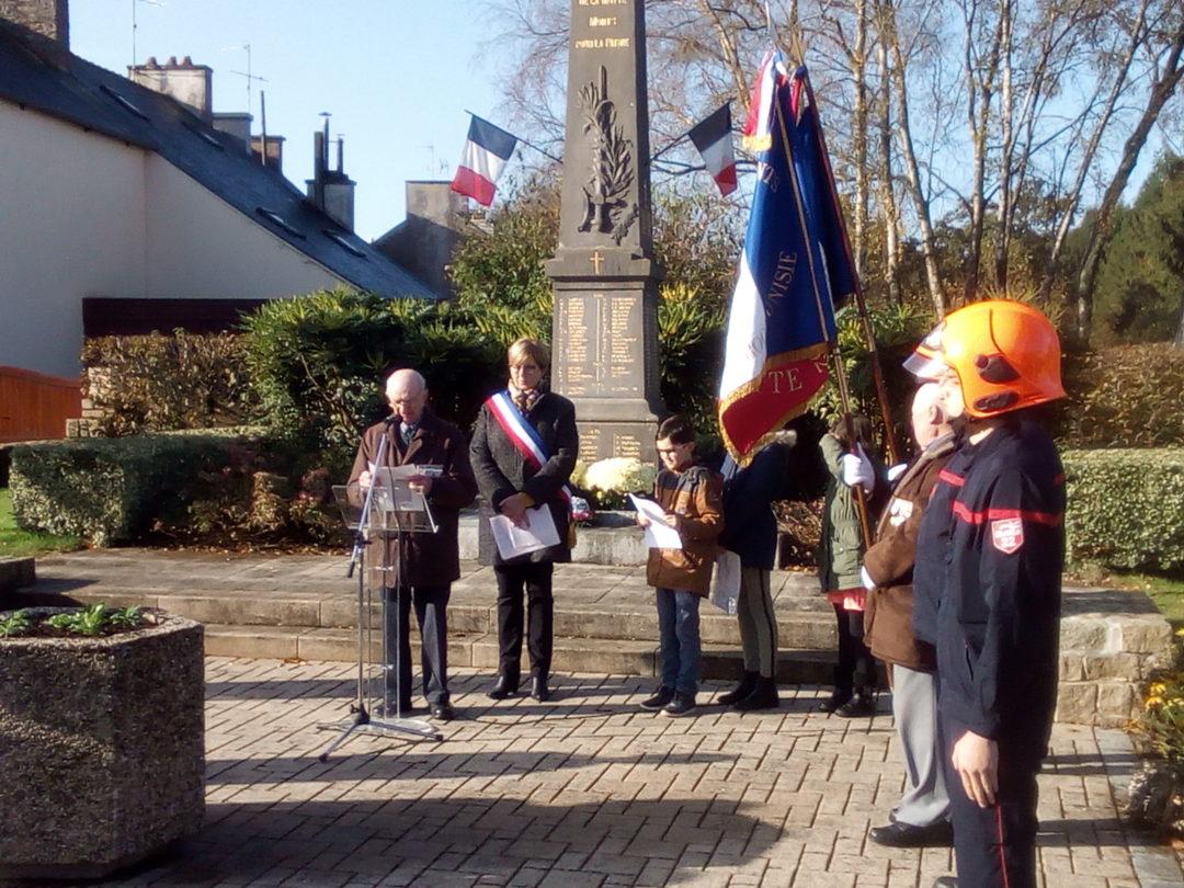 les CM commémorent l'Armistice de le 1ere Guerre Mondiale