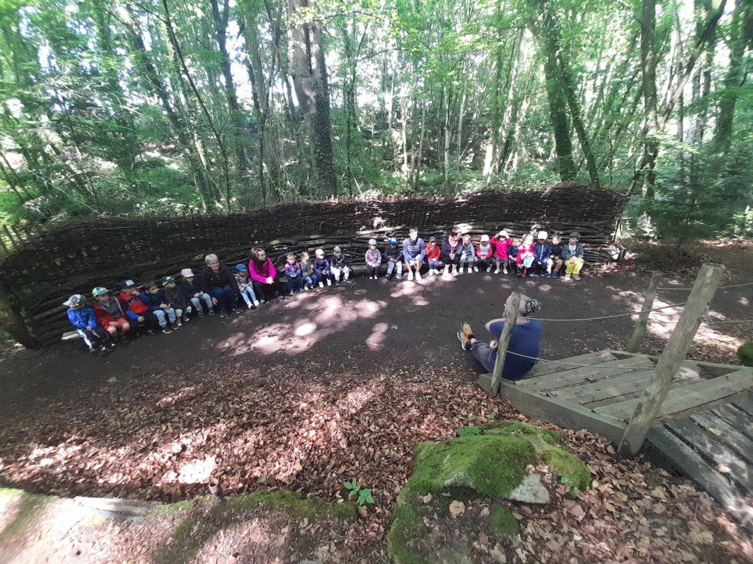La sortie scolaire des maternelles au centre de découverte du son à Cavan.