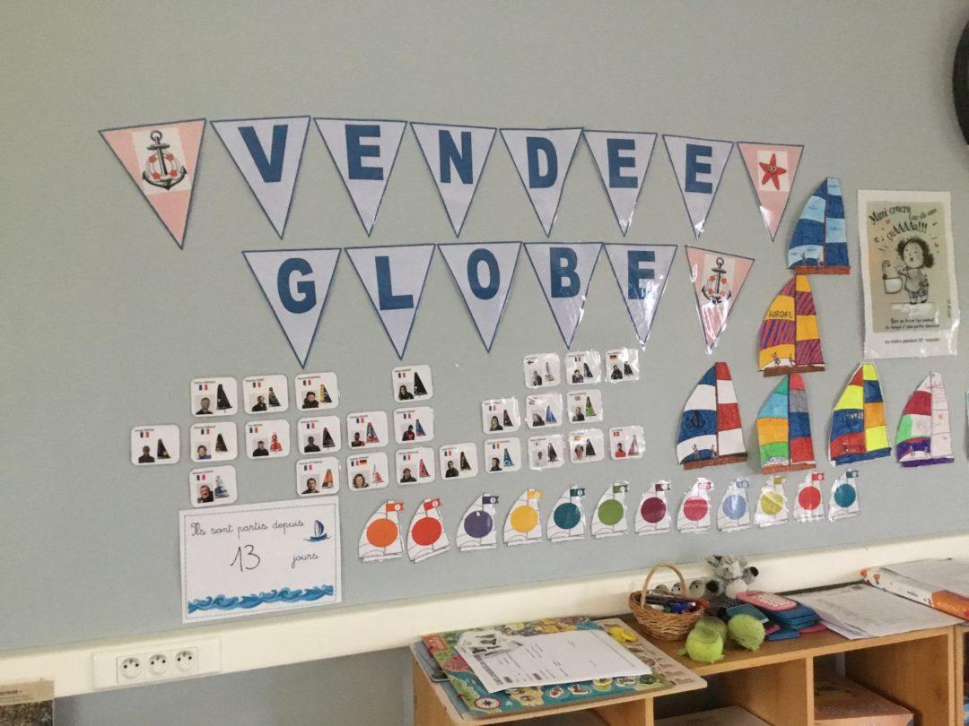 L'école Notre-Dame de Lourdes au rythme du Vendée Globe